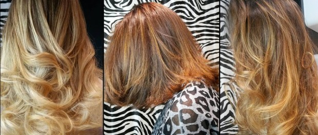 coiffure tie and dye