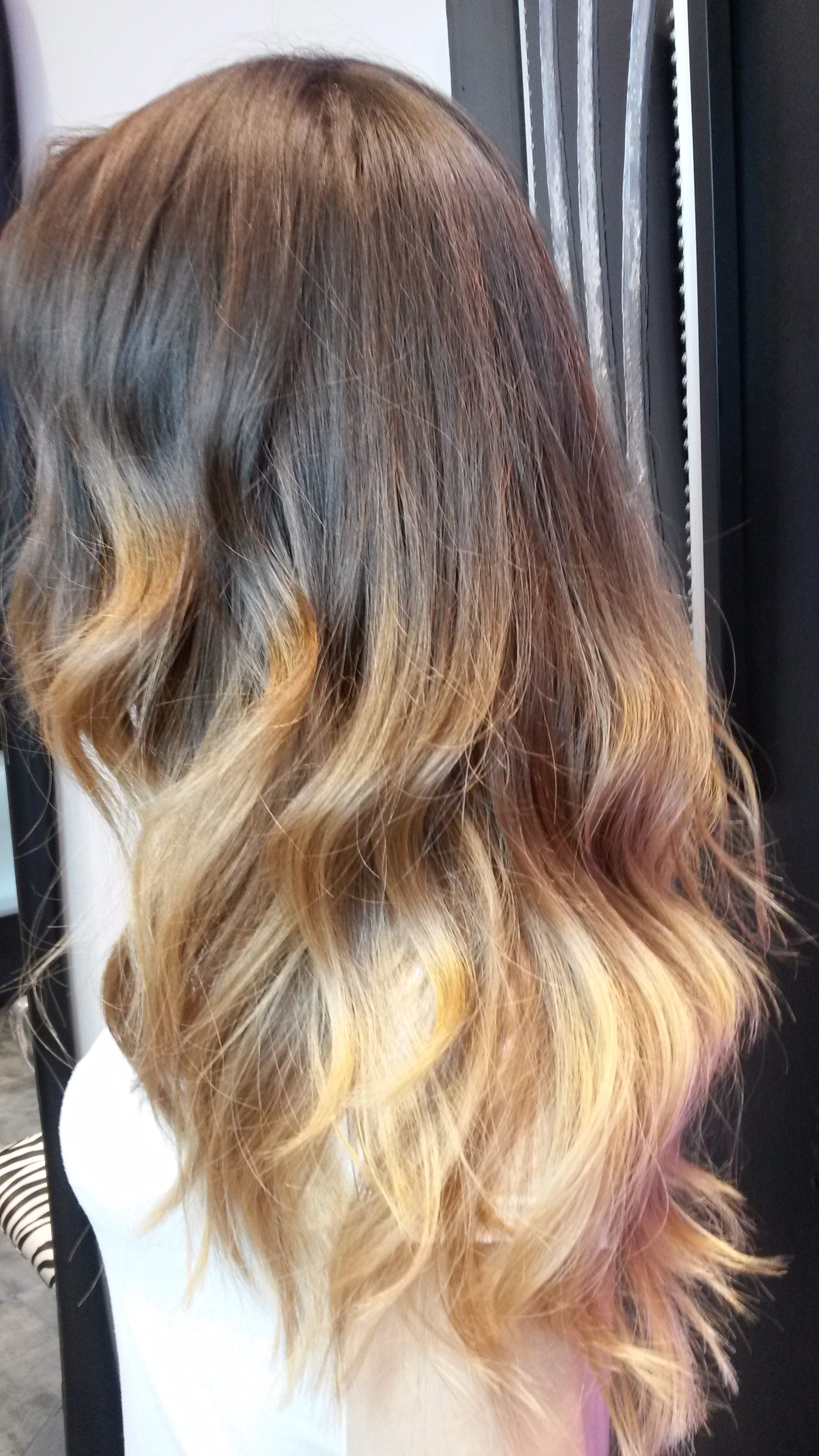 Souvent Ombré hair Salon de coiffure Paris coloration Ombré hair WC73