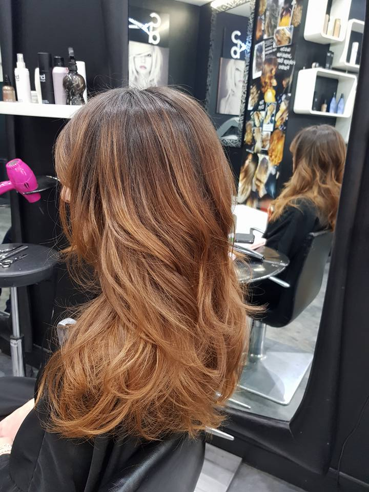 ombre,hair,roux